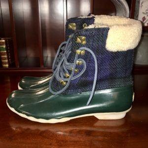nwob sperry blackwatch shearling boot